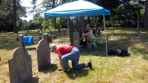 Old Indian Cemetary Restoration