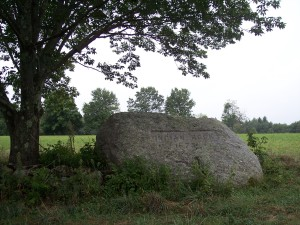 Indian Rock on Foster Hill