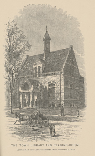 Merriam Library - West Main Street - 1880