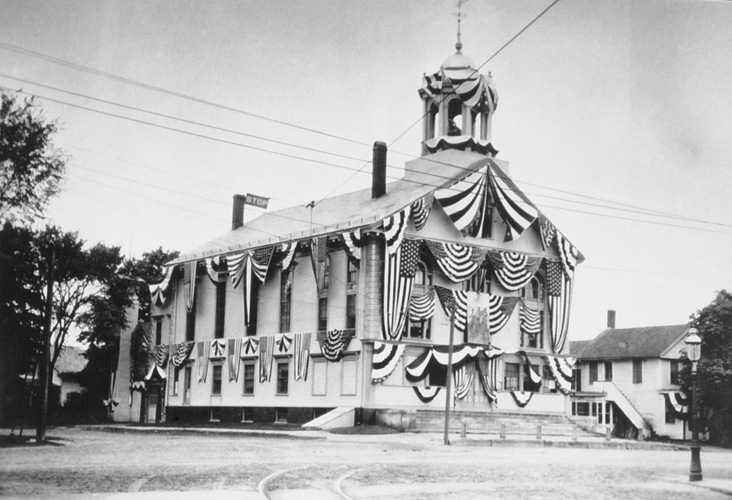Town Hall - 1910 Celebration