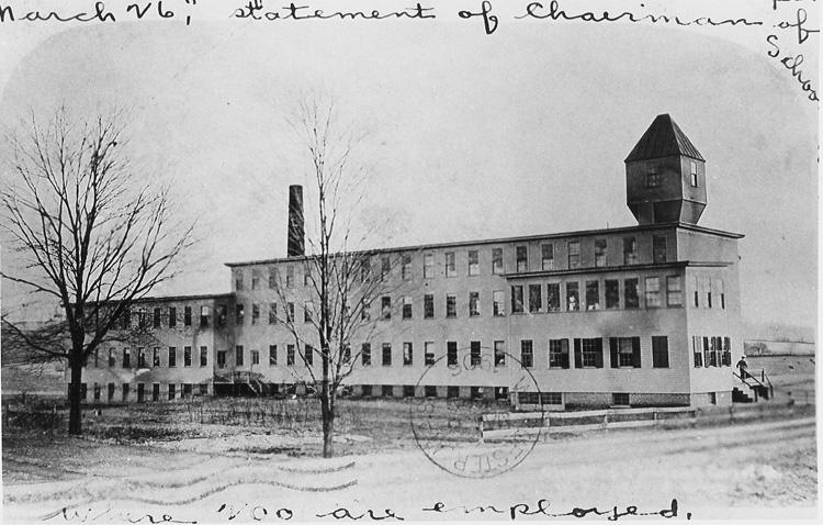 Olmstead - Quaboag Corset Factory - c 1906 - Pleasant Street