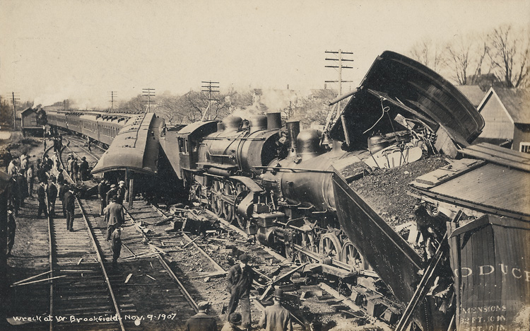 Train Wreck - Nov 9, 1907